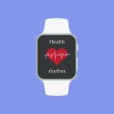 Fitness App Smartwach Icon.  Royalty Free Stock Photos