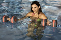 Fitness: Aquasize Royalty Free Stock Photography