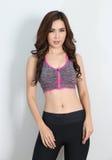 Fitness asian woman Stock Image