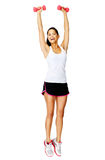 Fitness athlete exercise Stock Image