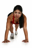 Fitness Attractive Filipino  Woman Royalty Free Stock Photography