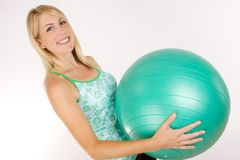 Fitness Ball Royalty Free Stock Images