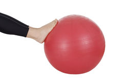 fitness ball Royalty Free Stock Photo