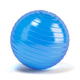 Fitness ball. Isolated on white Stock Images