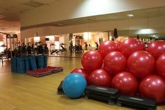 Fitness balls Stock Image