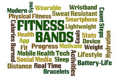 Fitness Bands Royalty Free Stock Photo
