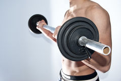 Fitness bar Stock Image