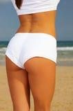 Fitness on beach Stock Photos