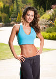 Fitness beauty. Royalty Free Stock Image