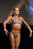 Fitness Beauty Poses in Bikini at Vancouver Contest Stock Photo