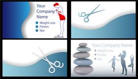 Fitness Beauty Spa Salon Business Card Royalty Free Stock Photos