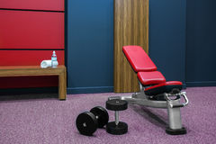 Fitness Bench Royalty Free Stock Images