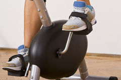 Fitness bicycle Royalty Free Stock Photos