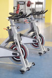 Fitness bicycles Royalty Free Stock Image