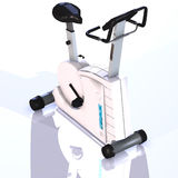 Fitness bike. A fitness bike to strengthen your health Royalty Free Stock Photography