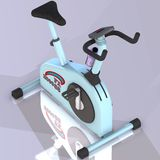 Fitness bike stock image