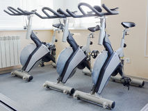 Fitness bikes Royalty Free Stock Photography