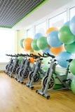 Fitness bikes Royalty Free Stock Image