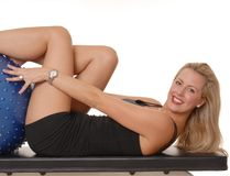 Fitness Blond 203 Royalty Free Stock Photos