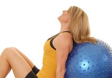 Fitness Blond 204 Royalty Free Stock Image