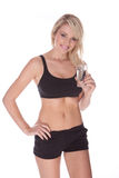 Fitness blonde woman Royalty Free Stock Photos
