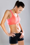 Fitness body Royalty Free Stock Images