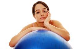 Fitness boredom Stock Image