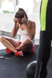 Fitness break Stock Photography
