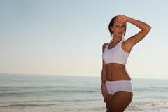 Fitness brunette Royalty Free Stock Image