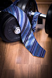 Fitness and business Royalty Free Stock Photo