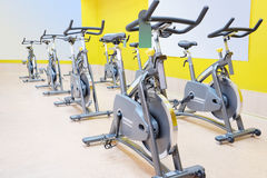Fitness bycicle. The image of fitness bycicle Royalty Free Stock Photo
