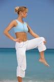 Fitness at Caribbean Royalty Free Stock Photos