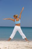 Fitness at Caribbean Stock Images