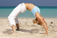 Fitness at Caribbean Stock Photography