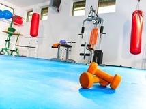 Fitness center Foto de Stock Royalty Free