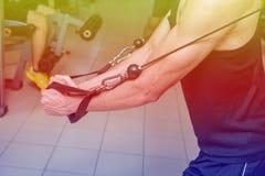 Fitness center Imagens de Stock