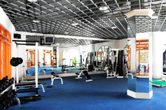 The fitness center Stock Image