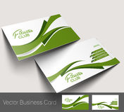 Fitness Center business card Stock Images