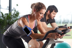 Fitness center Royalty Free Stock Image