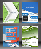 Fitness Center Flyer Royalty Free Stock Photos