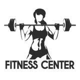 Fitness Center or Gym Emblem vector illustration