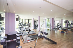 Fitness Center and gym for exercise Stock Photography