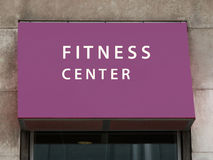 Fitness Center Royalty Free Stock Photography