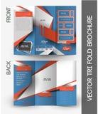 Fitness Center Tri-Fold Brochure Royalty Free Stock Photo