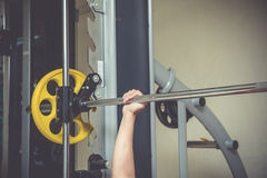 Fitness center. For a workout And muscle building Stock Photo
