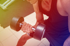 Fitness center. For a workout And muscle building Royalty Free Stock Images