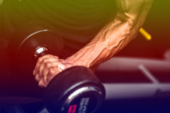 Fitness center. For a workout And muscle building Royalty Free Stock Photography
