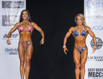 Fitness Champs Posedown Stock Images