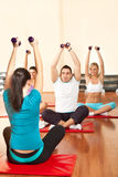 Fitness class Royalty Free Stock Image