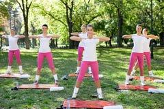 Fitness class Stock Photo